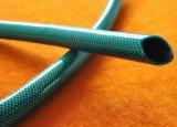 PVCプラスチック緑の適用範囲が広いファイバーの編みこみの庭水潅漑のホース