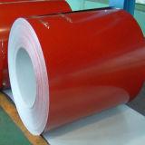 Superfície revestida com a bobina galvanizada Prepainted para Ral5010