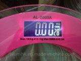 ボディスケールの温度の表示、夜間視界のバックライトの重量を量るデジタル