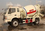 Forlandシャーシのトラックの中国の製造者が付いている4cbm 4*2の具体的なミキサー