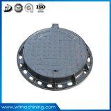 OEM Ductile Iron Sand Casting Sewer Cover Round Manhole Cover / Water Drainage Manhole