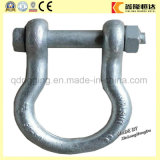 Drop Forged Screw Pin Lifting Chain D Shackle Factory Price