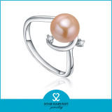 Gift (J-0080)를 위한 최신 Pink 925 Sterling Silver Jewelry Set