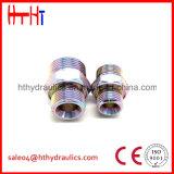 macho 1c-Rnw/1d-Rnw métrico 24 adaptadores do aço de carbono do cone do grau da fábrica hidráulica do adaptador da mangueira de China