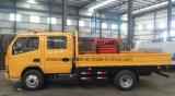 Vrachtwagen Op grote hoogte van de Schaar van de Cabine van Dongfeng 4*2 de Dubbele Werkende