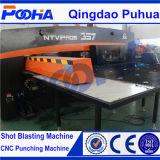 Poinçonneuse hydraulique de commande numérique par ordinateur d'index automatique de 4 Aixs avec le matériel à grande vitesse de perforateur de bâti proche