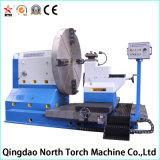 Tour de commande numérique par ordinateur d'extrémité de front de qualité pour usiner 2000 brides de millimètre de diamètre (CK61200)