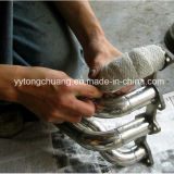 Ceramic bianco Fiber Exhaust Heat Wrap con Heat Resistance 1260c
