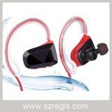 Les mains de sports libèrent l'écouteur imperméable à l'eau sans fil stéréo d'écouteur de Bluetooth V4.1