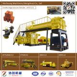 Machine automatique de brique d'argile rouge de machine de brique d'argile rouge