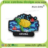 Освободите подгонянные подарки Aruba промотирования магнитов холодильника PVC сувенира OEM/ODM (RC-AA)