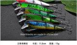Classic Minnow-Plastic Fishing Lure -Hard Lure -Appareil de pêche -Lesseau artificiel- Tombage de pêche Je