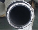 Tuyau hydraulique en spirale à quatre fils résistant de SAE100 R10