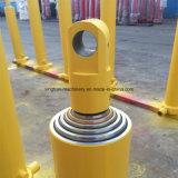 Cylindre hydraulique télescopique de semi-remorque à vendre