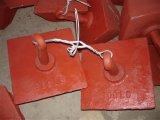 Анкер пирамидки при покрашенный красный цвет