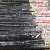 Tissu tissé par polypropylène noir en gros pour la barrière de Weed