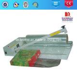 Lacre manual de la bolsa de plástico y cortadora