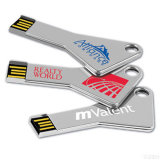 Metal Key Shape USB Flash Drives-Various Color Can Available