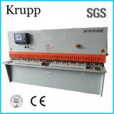 Macchina di taglio idraulica di QC12y 6X2500 per l'acciaio di taglio 6mm