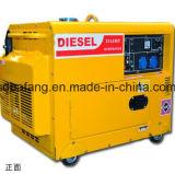 ホーム使用のための熱い販売5kwの小さい無声ディーゼル発電機