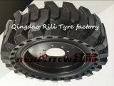 31*6*10 festes Tire, Forklift Skid Steer Solid Tire für Single Bucket Excavator