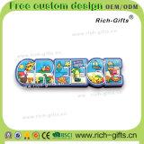 Indicateur Israël (RC-IL) de souvenir d'aimants de réfrigérateur des cadeaux 3D de promotion de dessin animé