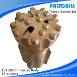 Perforatrice da roccia DTH/Button Bits Drilling Tools per Stone Working