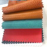 Material de tapicería consolidado del asiento de coche de los muebles del PVC de la PU del cuero