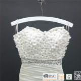 Blanco Cromo de madera de alambre traje de baño colgante para Bikini