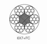 PVC 철사 밧줄 6*7+FC 철강선 밧줄