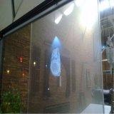 3D película publicitaria de cristal auta-adhesivo olográfica transparente de la proyección Film/3m