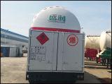 De LNG/LPG do petroleiro do Tri-Eixo reboque de serviço público do caminhão de tanque de GNL do reboque Semi