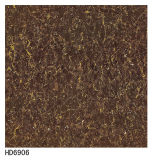 Плитки пола фарфора Tropicana черноты обязанности двойника 600*600 Polished