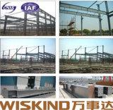 Пакгауз стальной структуры инженера хорошего качества Pre новый полуфабрикат
