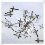 宗教カトリック教の十字の吊り下げ式の数珠/数珠の十字(IOap194)