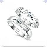 Monili di cristallo dell'argento sterlina dell'anello 925 di modo dei monili (CR0005)