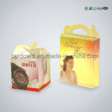 작은 폴딩 투명한 공간 PVC 애완 동물 플라스틱 선물 포장 상자