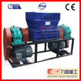 Double Shaft Shredder Tire plástico PVC PP Glass with Ce
