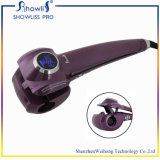 Brushless Motor LCD Magic Hair Curler Machine automatique à copeaux de cheveux avec couleur pourpre