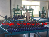 Ручная выровнянная PTFE клапан-бабочка вафли нержавеющей стали (D71X46)