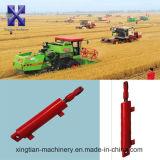 Cilindro hidráulico temporario doble para la máquina de la agricultura