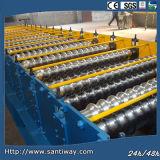 Machine à toiture en acier