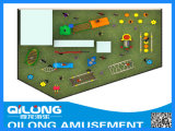 Ebenerdig Kinderspielplatz Sets (QL-150413D)