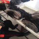 Fechamento do laço do cabelo humano do Virgin com cabelo brasileiro