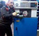 Máquina de friso Km-81b para o encaixe de cotovelo de Doulbe