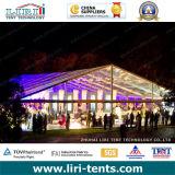 Tenda foranea trasparente di lusso per gli eventi esterni, tenda libera per le cerimonie nuziali