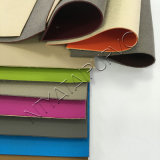 Qualität geprägtes Sofa-Gewebe Belüftung-Leder mit Vliesstoff-Rückseite