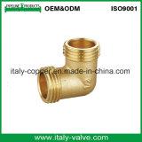 最上質の磨く真鍮の管の肘(AV-BF-8005)
