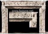 Lareira de mármore - MSDF-008