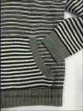 Boys Stripe Hoody - Sweater de malha verdadeira